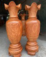 lục bình gỗ hương đỏ 180cm